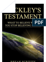 Buckleys Testament by Bryan Scriven
