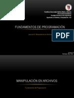 Fund. de Programación - Tema 6
