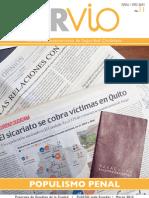 Revista Urvio No. 11 (Populismo penal)