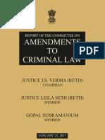 Justice Verma Report
