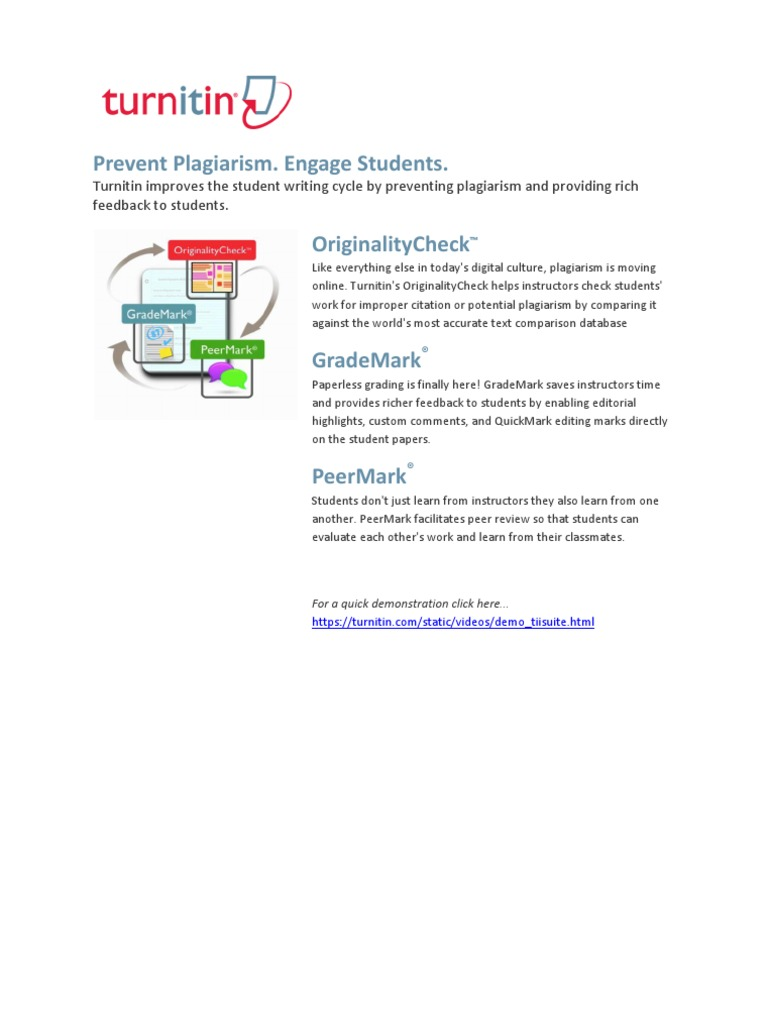 turnitin student paper database