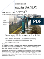 Uptown Climate Change Conference (Espanol)