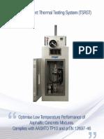 Asphalt Pavement Thermal Testing System-TSRST