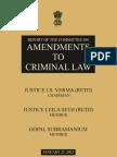 Justice Verma report on Delhi Gang Rape