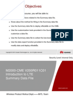 Training Document_iManager M2000-CME V200R011 Introduction to LTE Summary Data File-20110823-B-1.0.ppt