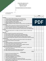 Head Nursing Evaluation Tool