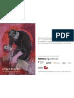 Graça Morais 'Os Desastres da Guerra' no Museu Arpad Szenes - Vieira da Silva - convite