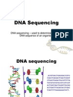 Methods of DNA Sequencing