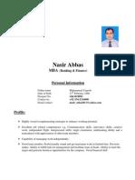 CV Nasir Abbas
