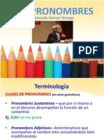 Pronombres- Leonardo Gomez Torrego