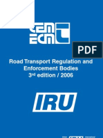 Road Transport Regulating & Enforcement Bodies - 2006 Edition
