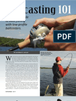 Baitcasting 101 - A Practical Guide to Bass Fishing With Low Profile Baitcasters