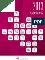 Calendario Del Contribuyente 2013 ALAVA