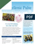 Panhellenic Pulse - January 2013