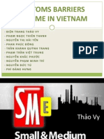 Customs Barriers in Vietnam