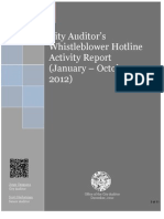 The auditor's report