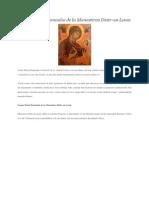 Icoana Maicii Domnului de La Manastirea Dintr