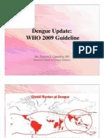 Dengue WHO 2009 Guideline