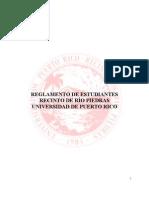 Enmiendas estudiantiles al Reglamento de Estudiantes del Recinto de Río Piedras UPR