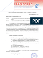 XVI Congreso Nacional Ordinario 22 Marzo