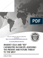 "Jihadist Cells and ""IED"" Capabilities in Europe"