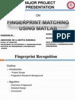 Report FingerPrint | Matlab | Biometrics
