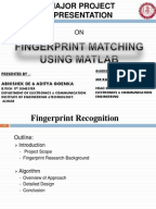 Influence of Skin Diseases on Fingerprint Quality and Recognition     Image borrowed from eFinger project report