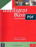 Intelligent Business Pre-Intermediate Coursebook