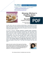 Steamy Kitchen's Healthy Asian Favorites by Jaden Hair - Press Release
