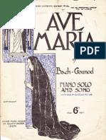 Ave Maria.   Bach - Gounod