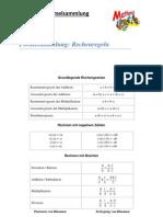 Mathe (Allgemeine Formelsammlung)