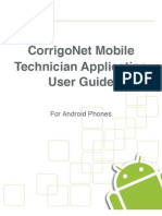 Internal Technician Mobile App - Android User Guide