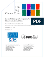 Dialogues on Diversifying Clinical Trials