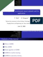 self organising  INCREMENTAL neural network