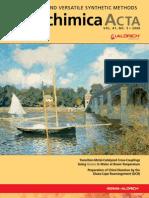 Green, Mild and Versatile Synthetic Methods - Aldrichimica Acta Vol. 41 No. 3