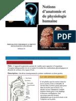 Anatomie Physiologie Humaine