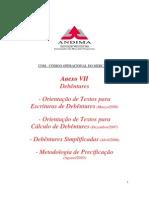 Metodologias - Precificação de Debêntures_Andima