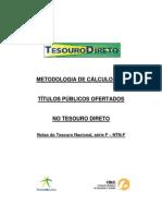 Cálculo da Rentabilidade dos Títulos Públicos_NTN-F