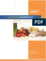 Elite Soccer Conditioning Nutrition eBook