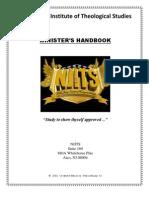 Ministers Handbook