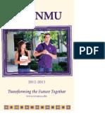 12-13 Course Catalog