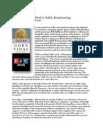 Hellenism in Peril in Public Broadcasting