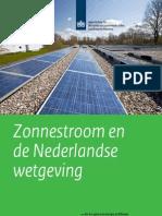 Zonnestroom en de Nederlandse Wetgeving_0