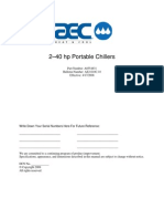 AEC chiller operation manuals