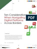 Ten Considerations When Navigating Digital Platforms Across Borders