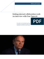 Tapscott on Email and Social Media