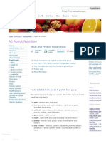 Meats & Protein Food Group - Vital Health Zone