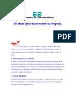 50 Ideas Para Hacer Crecer Su Negocio.doc