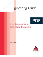 Fire Exposures to structural elements