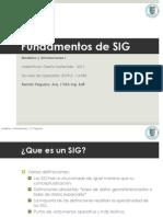 Fundamentos I SIG